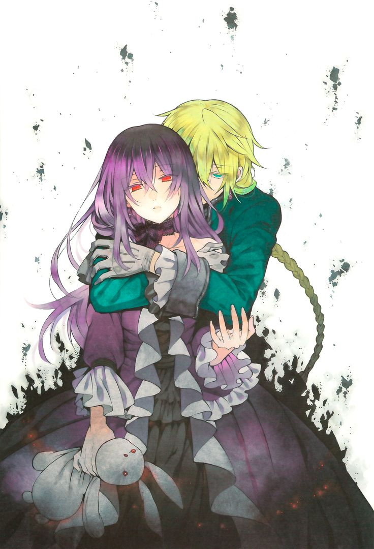 Mochizuki Jun, Pandora Hearts, Jack Vessalius, Lacie Baskerville, Lolita Fashion, Hug From Behind