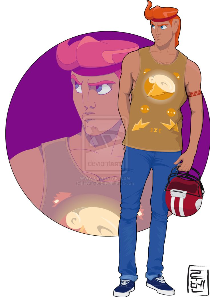 Disney characters as modern-day college students, Hercules as the BMOC - Hercules by *Hyung86 on deviantART | Follow here http://pinterest.com/cakespinyoface/geekery/ for even more Geekery-- art, tech and more!