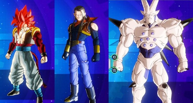 There are many characters in dragon ball xenoverse with which you can