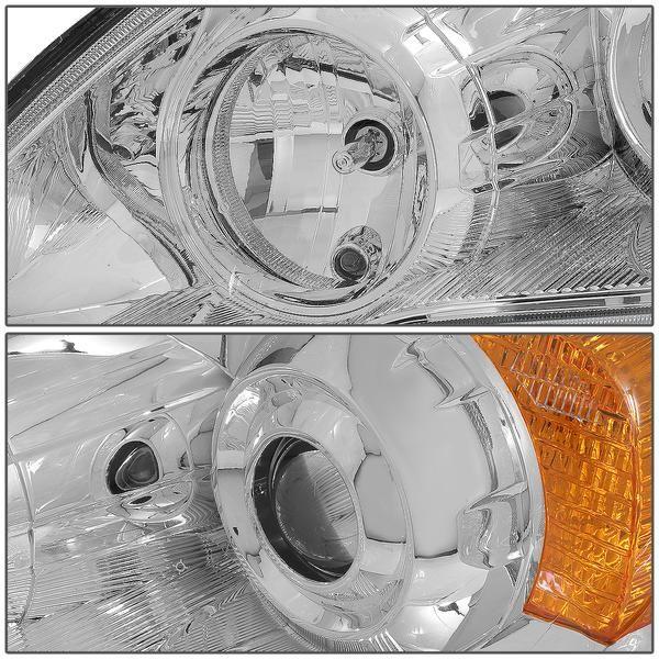 07 11 Honda Cr V Projector Headlights Chrome Housing Amber Corner Projector Headlights Honda Crv Honda Cr