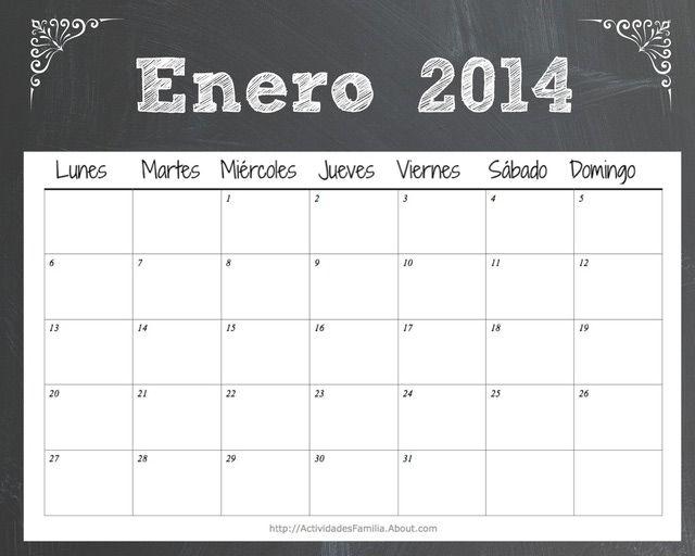 Calendario de celebraciones en Enero 2014