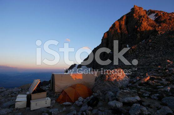 Base Camp royalty-free stock photo
