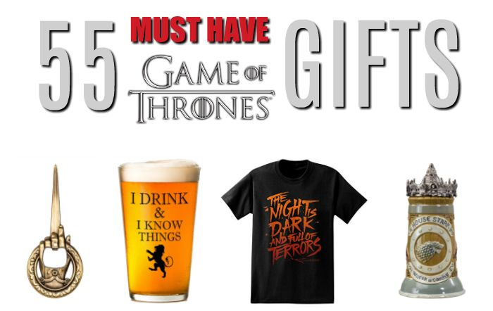 Must have Game of Thrones gifts, Game of Thrones Merchandise, Game of Thrones shirts, Game of Thrones home decor, Game of Thrones games