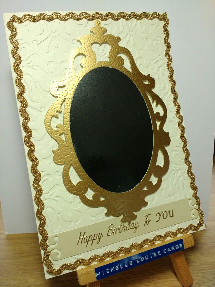 'mirror' birthday card