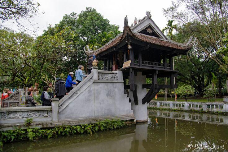 VN_160130 Vietnam_0045 Hanoin Yksipilarinen pagoda