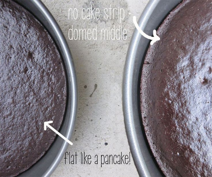 How to bake level cake layers