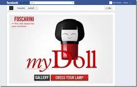 Lampada personalizzata myDoll e Doll di Foscarini