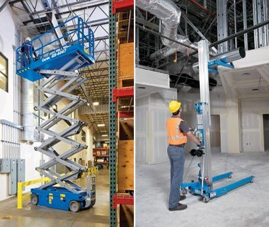 Large or small access platforms for commercial application