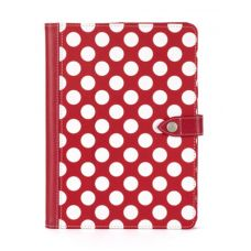 Stand out from the crowd with this beautifully stylish Griffin Polka Folio! Not only does it offer superior protection but it also supports your iPad Air in multiple positions.