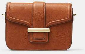 Womens windsor tan cross-body pebbled bag from Mango - £35.99 at ClothingByColour.com