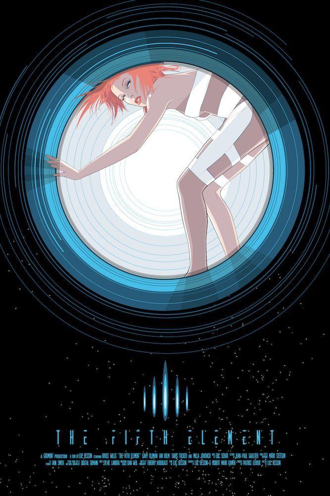 """""""Leeloo"""" by Craig Drake - Hero Complex Gallery"""