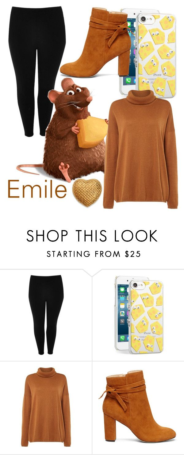"""""""Ratatouille: Emile"""" by kaitlyn-ashby101 ❤ liked on Polyvore featuring River Island, Skinnydip, Biba, Sole Society and AERIN"""