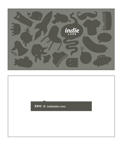 indie labs #letterpress #businesscards