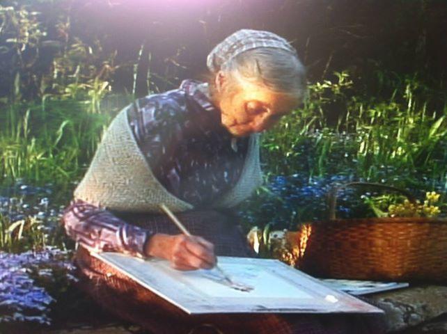 tasha tudor ... You can paint anywhere!