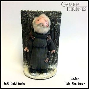 hodor hold the door game of  Thrones peg doll by fabi dabi dolls available now on ebay
