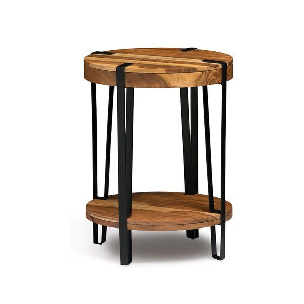 Tindal Live Edge End Table Furniture Table End Tables