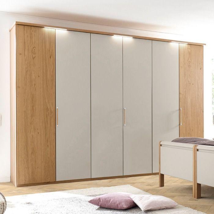 Loddenkemper Kleiderschrank Multi Comfort 302x223 Cm Grau
