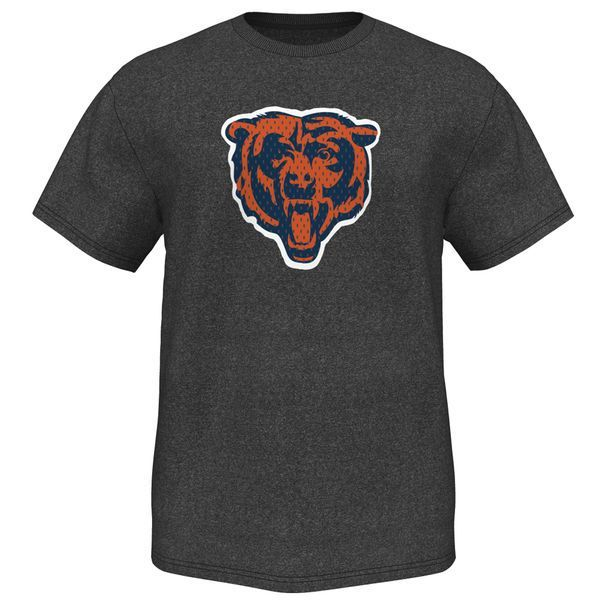 Chicago Bears Majestic Victory Gear VII T-Shirt – Charcoal - $31.99