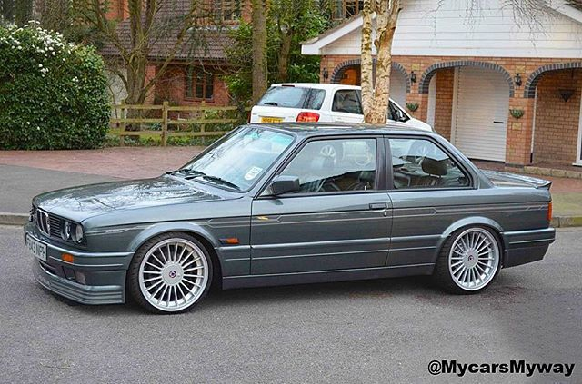 : This is the best look for an E30 in my eyes. Full Mtech II kit with Alpina front lip MyWay.  The only thing I would change is to replace the rear spoiler with a Hartge rear wing.  #alpina #bbs #bmw #bimmerrides #Bmwgram #bmwlife #e21 #e23 #e24 #e28 #e30 #e32 #e34 #e36 #e46 #e28_empire #bimmerinsta #e30fanatics #m635csi #sharknose #klasickftm3nt #alpinab6 #M3 #325isport #M5 #M6 #alpinac2 #mtech #325i #BMWM3