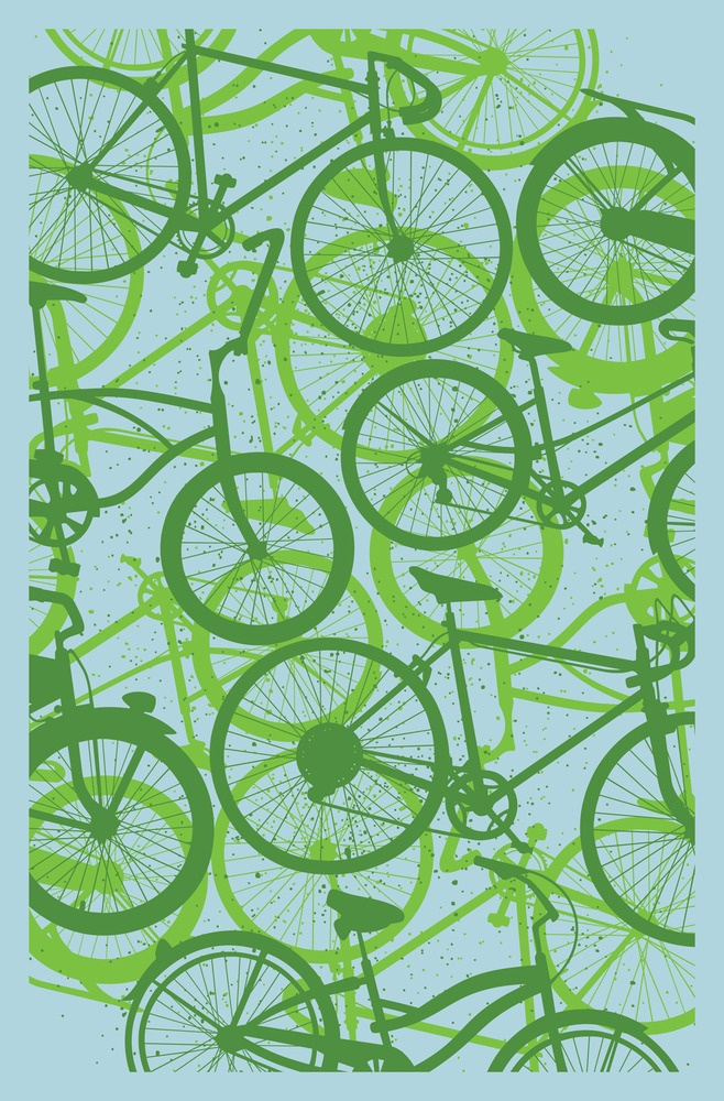 Subject Matter Bicycle Art Print $20