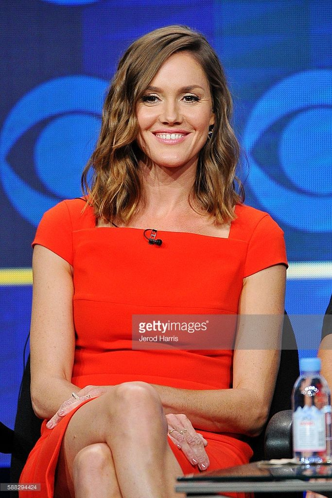 Erinn Hayes attends the CBS 2016 Summer TCA Panel at The Beverly Hilton Hotel on…