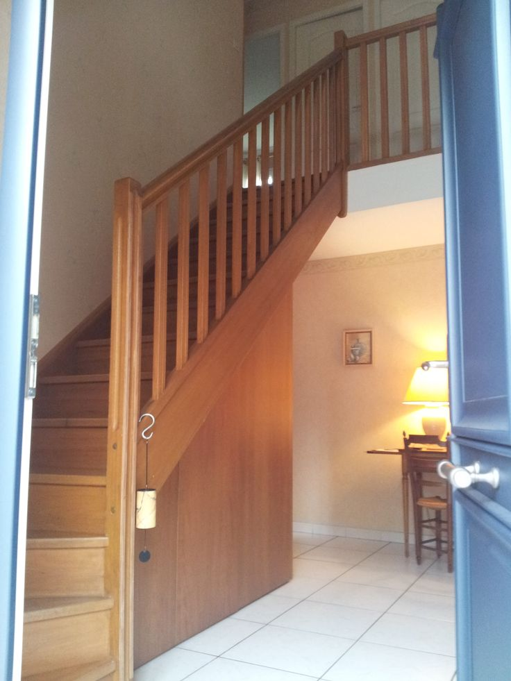 8 best Escalier images on Pinterest Stairs, Stairways and Ladder - renover une porte d entree en bois