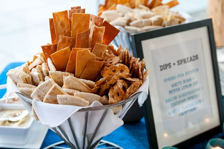 Chips And Dip Station Doctors Event Pinterest Chips