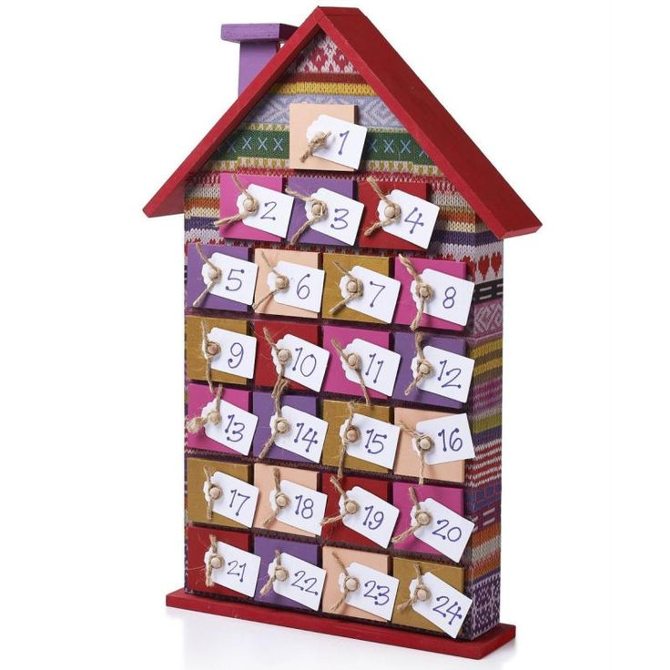 Hobbycraft Wooden Advent House Undecorated | Hobbycraft #christmascrafts #adventcalendar #diy #christmasmakes #decopatch #homemade #woodenhouse #christmasdecoration #countdown #xmas #xmascrafts
