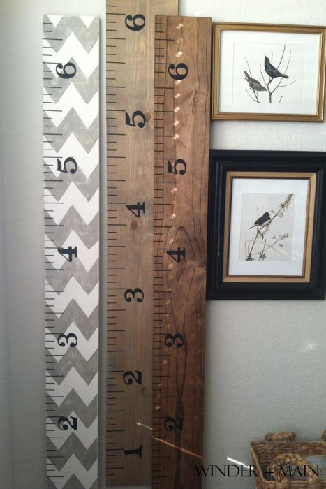 42 Craft Project Ideas That are Easy to Make and Sell | Big DIY IDeas ~ an oversize yardstick would make a great gag gift that's actually useful too!