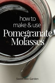 If you find yourself with lots of pomegranate juice, make pomegranate molasses! You'll be amazed at how easy it is to make this Middle Eastern condiment.