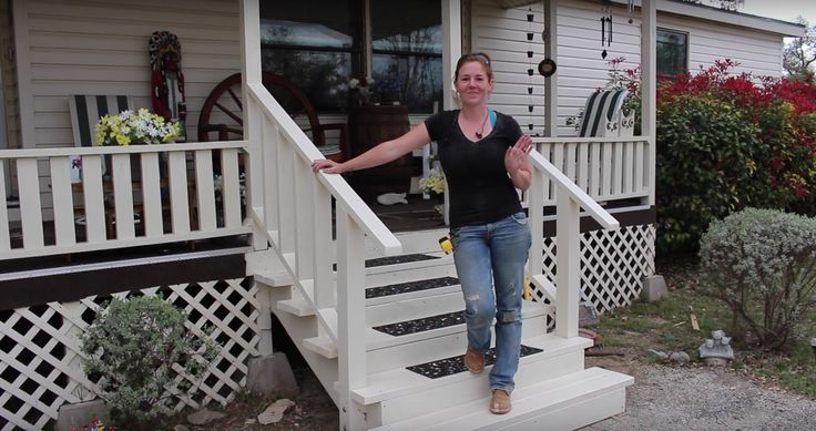 17 best ideas about front porch steps on pinterest front for Steps to building a house