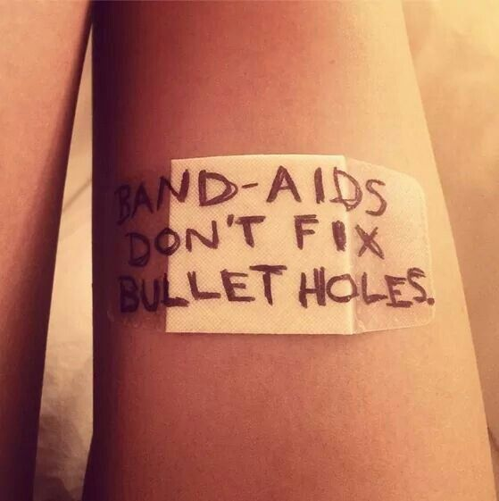 "Track 8 lyrics! This has to be Bad Blood! ""Band-aids don't fix bullet holes."" 17 HOURS LEFT!!!!!!"