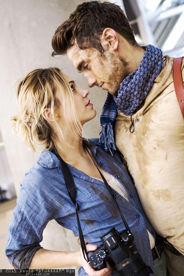 Elena Fisher and Nathan Drake | Comikaze Expo 2015