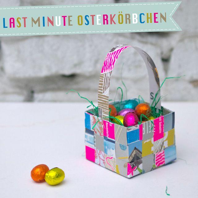 Last Minute Easter Baskets