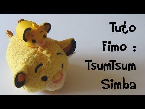 DIY Disney Tsum Tsum Ariel from The Little Mermaid - Polymer clay tutorial…
