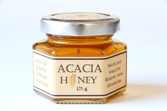 ACACIA honey 4.4oz/125g/Slovenian by AliasTasteOfNature on Etsy