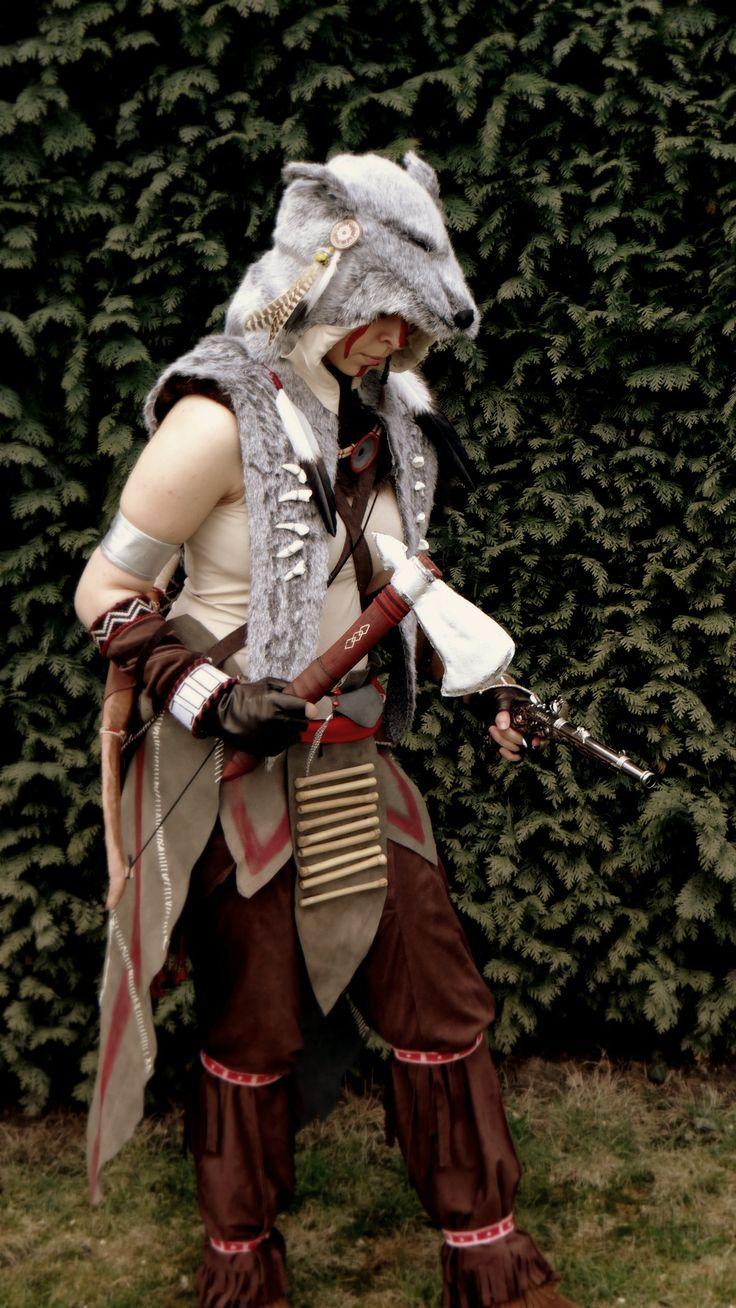 Ratonhnhaké:ton Cosplay (Assassin's Creed 3 DLC The Tyranny of King Washington)