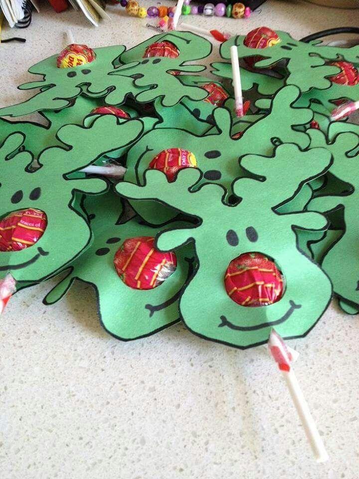 Rudolph lolipops!