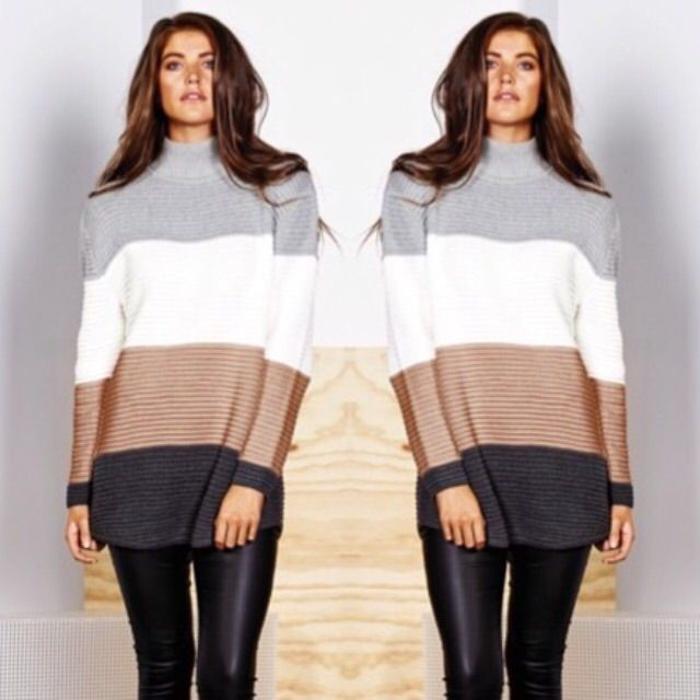 Neapolitan knit jumper from Imonni the label just landed for pre-order at www.sebachi.com