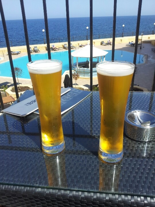 Cheers! Hotel bar
