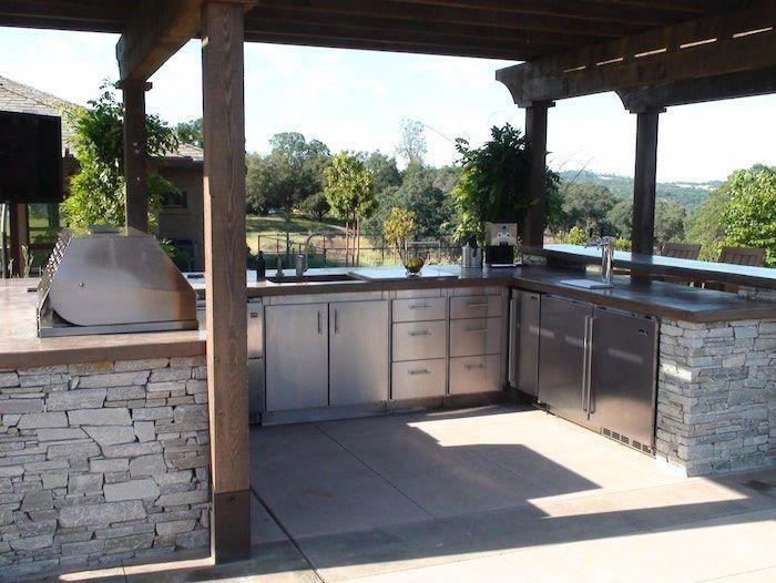 Grill Außenküche Selber Bauen : Outdoor grill küche selber bauen eg hitoiro avec gartenküche aus