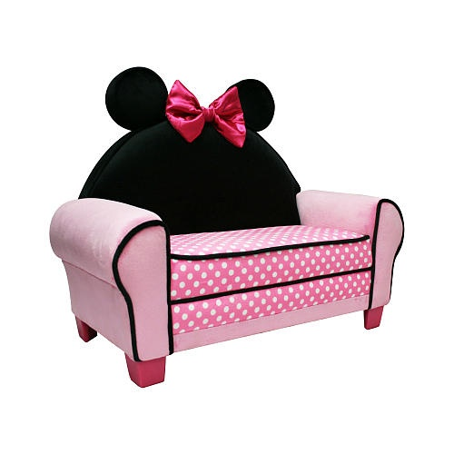 Disney Minnie Mouse Icon Toddler Sofa  - Harmony Kids -  Furniture - FAO Schwarz®