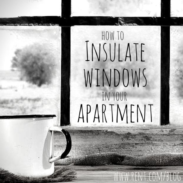 Keep the cold air out by insulating your apartment windows! That way, you can stay nice and cozy in your warm apartment. #winter