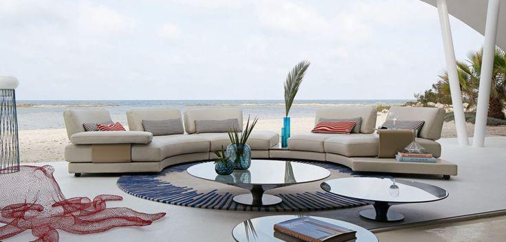17 mejores ideas sobre mesas de centro tapizadas en pinterest fundas de alm - Suspension roche bobois ...