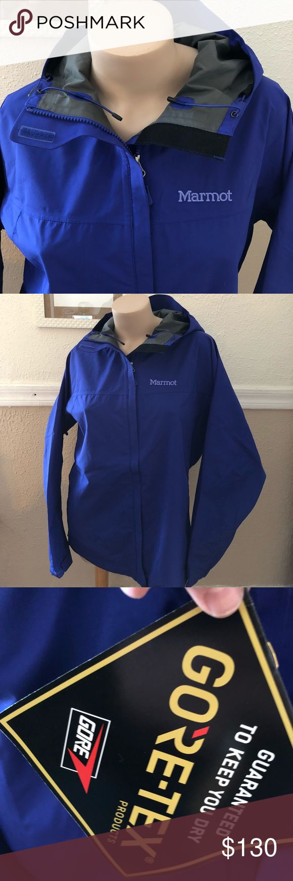 Marmot Minimalist Jacket with Gore-Tex New with tag in royal night. Size XL. Marmot Jackets & Coats