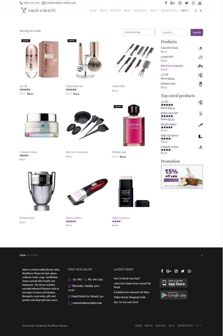 Salon WordPress theme - Beauty services responsive website builder https://visualmodo.com/theme/salon-wordpress-theme/  A handcrafted Beauty Salon WordPress Theme for hair salons, wellness center, yoga/meditation classes and all other healthcare businesses. The visual and conceptual aesthetics are focused on a classy and elegant presentation. 💄💇♂️✂️💇♀️  #WordPress #Theme #Salon #Beauty #Services #WebDesign #WebDevelopment #Template #Responsive #Yoga #Spa #Hair #PageBuilder #Plugins