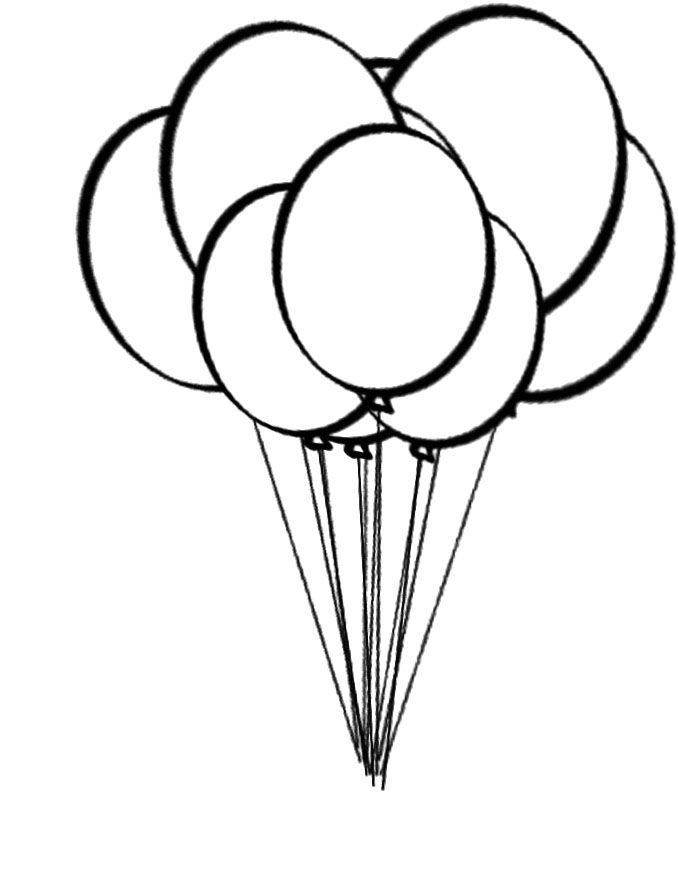 Birthday Balloons Coloring Pages Free Balloons To Color Download Free Clip Art Coloring Pages For Kids Candy Coloring Pages Balloon Template