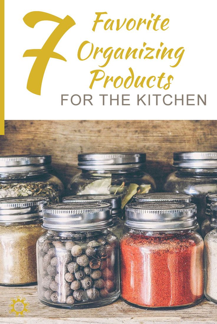 The kitchen is the heart of the home so show it some love with these easy and cheap kitchen organization products.