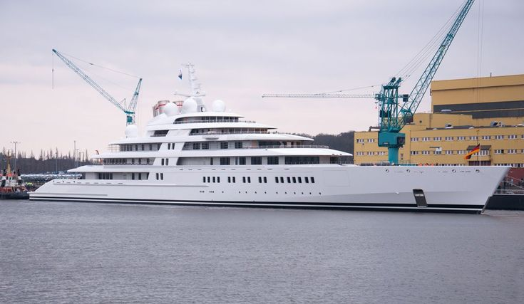 $600 MILLION: The Azzam yacht is the world's biggest private superyacht. No one knows the owner, but many speculate it is owned by the royal family of Abu Dhabi. It reportedly has its own submarine with a missile defense system.