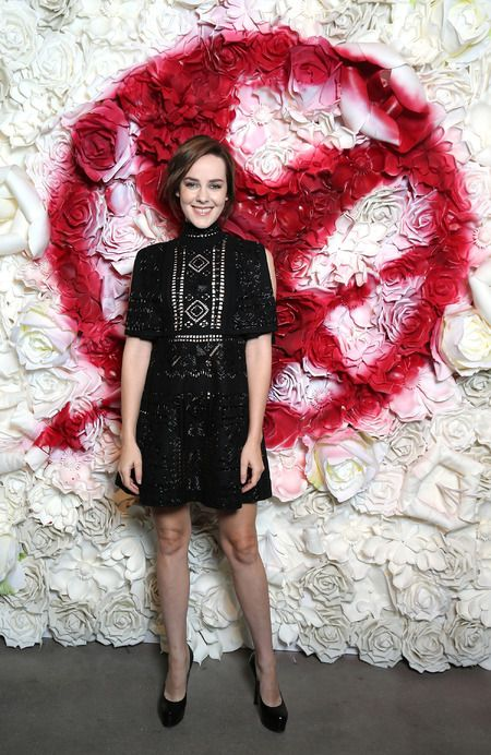 Jena Malone at the Stand With The Mockingjay Samsung & The Hunger Games Virtual RealityExperience - The Hunger Games News - Panem Propaganda